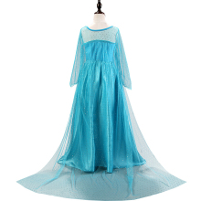 Princess Girl Dress  Lace Sequins Halloween Christmas Party Role-play Costume Clothes
