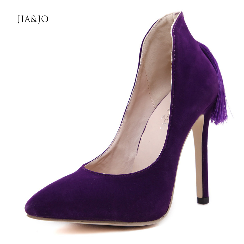 fashion pointed toe high heels shoes nightclub
