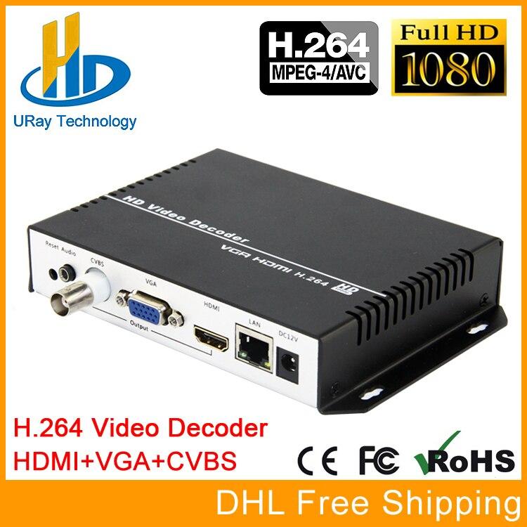 1080P 1080I H.264 HDMI VGA CVBS Decoder HD SD Video Audio IP Streaming Decoder HTTP RTSP RTMP UDP HLS To HDMI VGA CVBS Receiver 1080p 1080i h 264 hdmi vga cvbs decoder hd sd video audio ip streaming decoder http rtsp rtmp udp hls to hdmi vga cvbs receiver