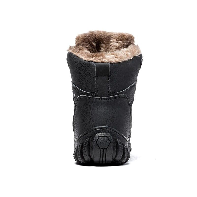 Sneakers Plus À Água Pele 39 Prova Tornozelo De 48 Preto Trabalho marrom Quentes Neve Do Homens Inverno D' Sapatos Size Antiderrapante Botas Manter ASA4qw8