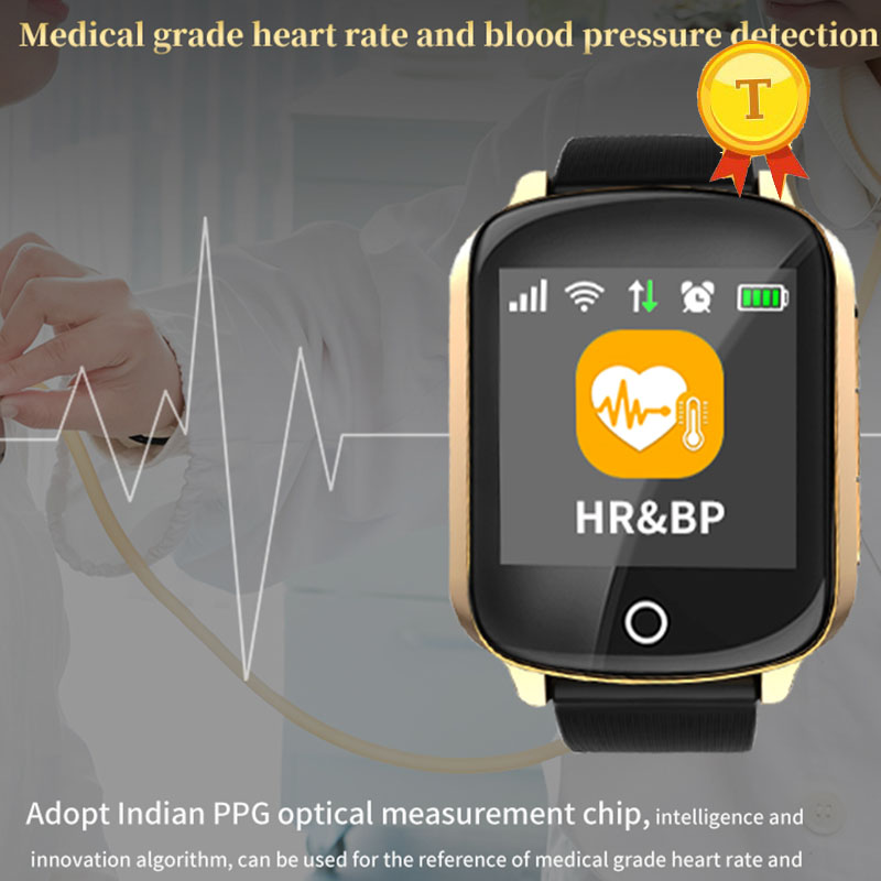 2019 Wifi Gps Tracking smart watch elderly man woman mother father With presice Heart rate blood