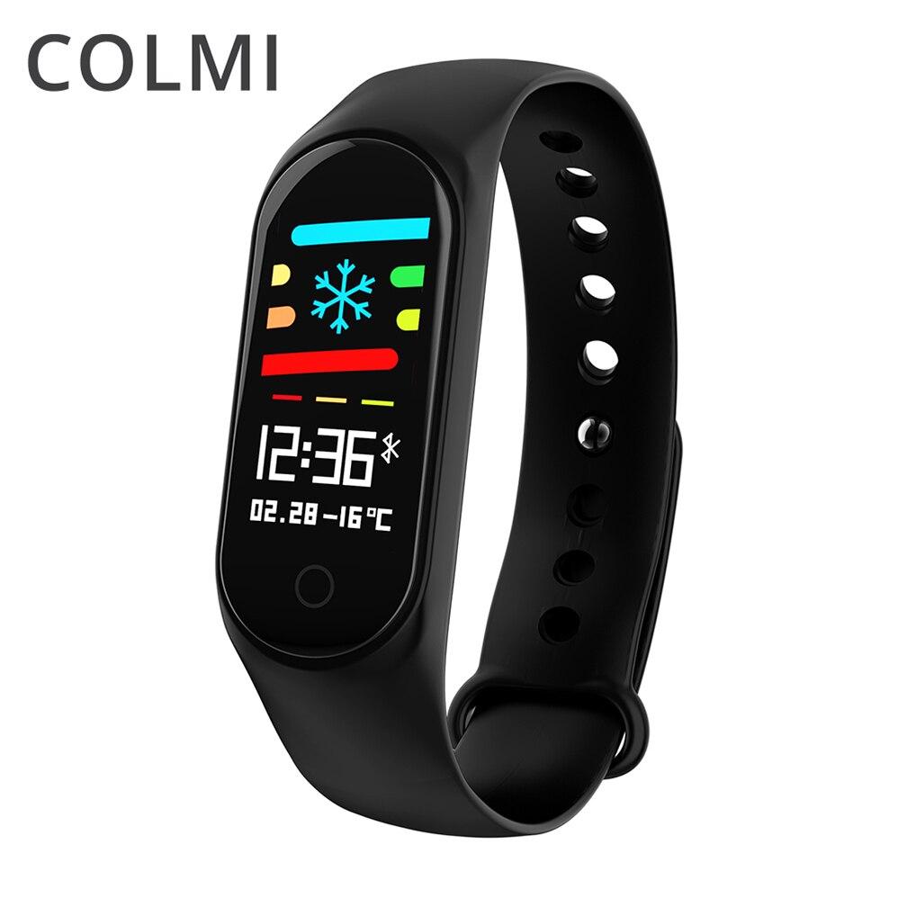 COLMI M3S Smart Bracelet Couleur Écran Sang Pression Étanche Fitness Tracker Moniteur de Fréquence Cardiaque Bande À Puce pour Android IOS
