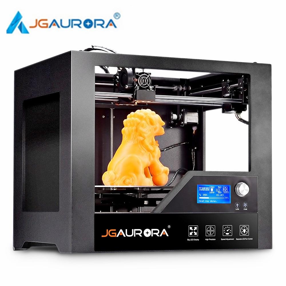 JGAURORA Z – 603S Desktop 3D Printer High Precision Metal Frame for Home Use 280 x 180 x 180mm