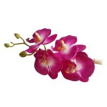 Новые женщин Волос Цветок Клип Свадьбу Аксессуары Для Волос (Фиолетовый Белый)