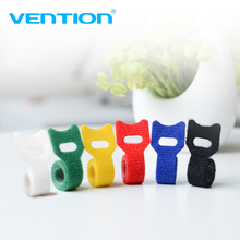 Vention 6pcs/bag Cable winder New Arrival USB Cable Management Earphone Cable Organizer Mouse Wire Holder Clip Low price