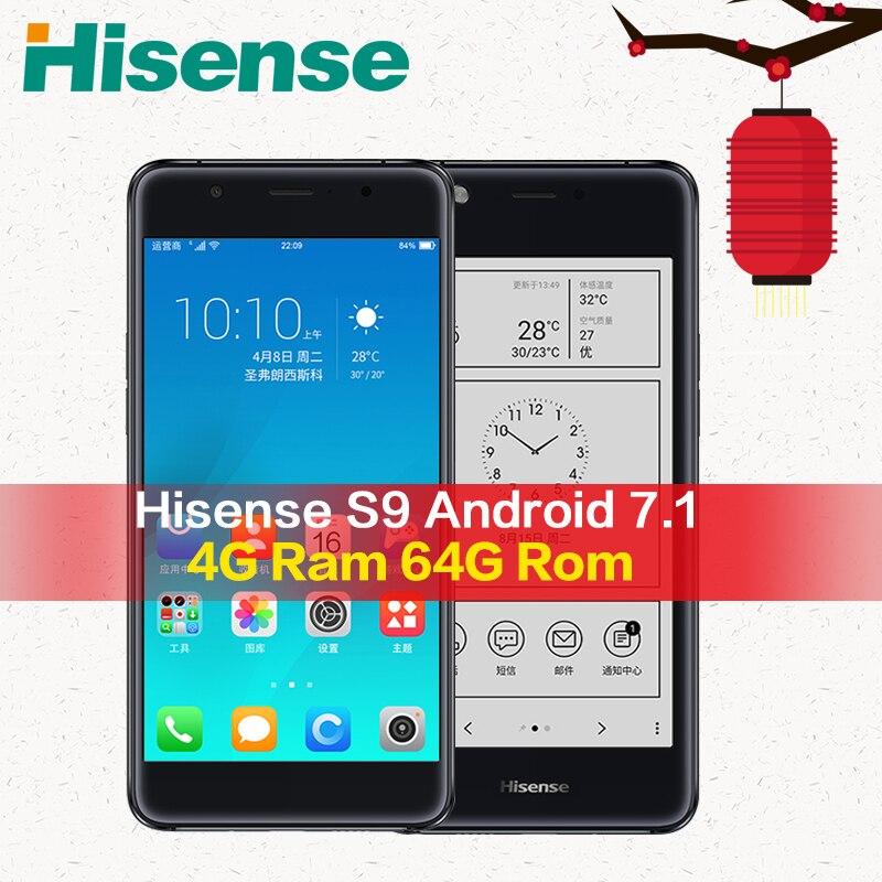 Mondiale Hisense 4G LTE téléphone portable S9 A2 Pro Cellulaire 64G ROM Double Écran celular Smartphone 4G LTE double Écran téléphone cellulaire