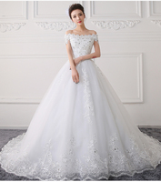 2017 New Spring And Summer Qi In The Sleeves With Simple And Concise Body Slim Bride