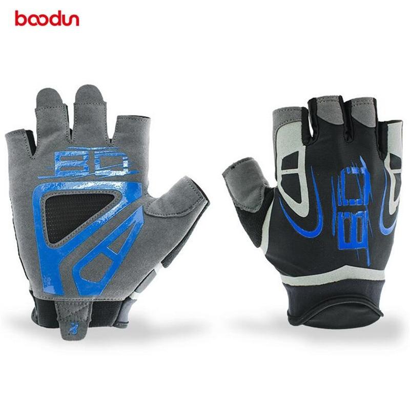 Boodun font b Gloves b font Men Gym Body Building Training Sports Non Slip Wear Resisting