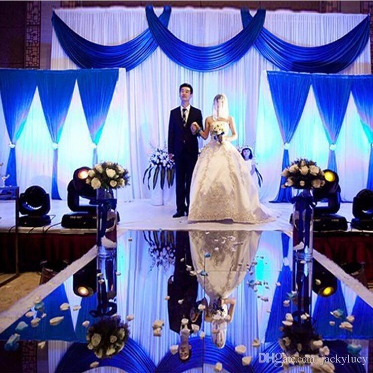 10м / ролл Luxury Wedding Centerpieces Алтын күміс - Мерекелік және кешкі заттар - фото 2