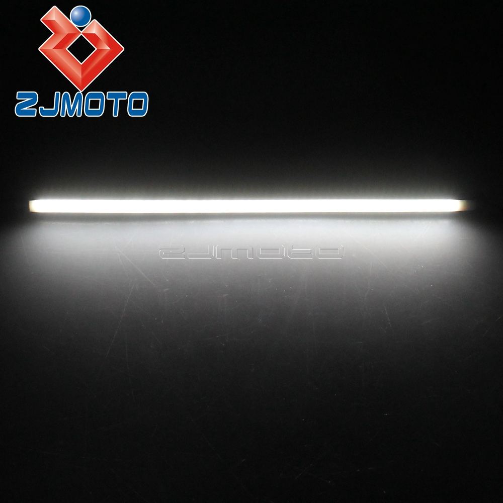 Home Bjglobal Motorcycle Cars Atv License Plate Light Brake Strip Signal Turn Lamps Tail Bulbs License Plate Decoration Light Strips Moderate Price