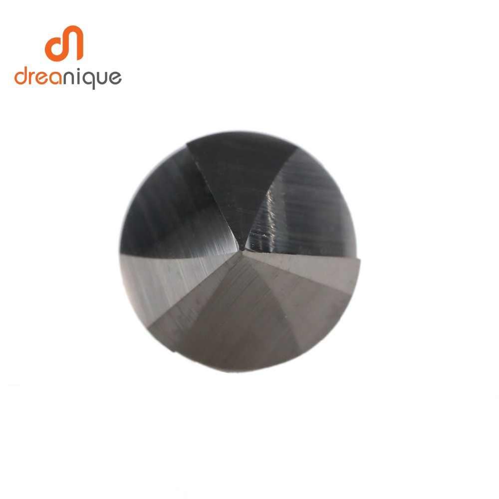 CNC carburo di tungsteno Svasatori Punta del trapano Smusso fresa per alluminio, Rame, 60 90 120 gradi sbavatura end mill