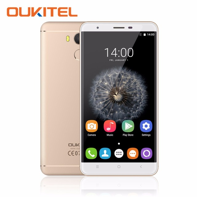 "Original OUKITEL U15 PRO 5.5"" HD Octa Core Smartphone 3GB RAM 32GB ROM Android 6.0 MT6753 13.0MP Dual SIM Cards 4G Mobile Phone"