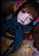 Free shipping!makeup&eyes included!top quality 1/4 bjd doll girl SOULDOLL Soul-kids W.Pin Brinquedos Hobbies toys  kids