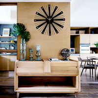 Modern Home Decoration Watch Wall Silent Large Round Wall Clock Design For Living Room Wall Decor