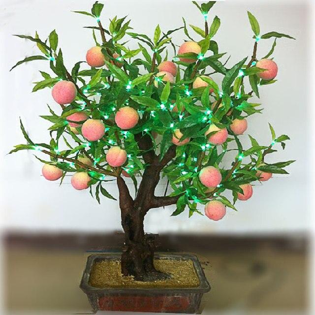 led high artificial peaches lamp led bonsai tree light bonsai light high artificial bonsai lamp