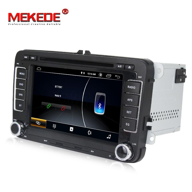 Lecteur Autoradio multimédia voiture MEKEDE Android 8.1 Autoradio pour Golf/6/Golf/5/Passat/b7/cc/b6/SEAT/leon/Tiguan/Skoda/Octavia - 4