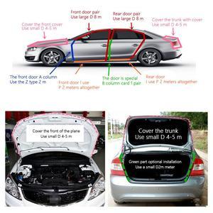 Image 5 - Dragonpad 5M D Shape Car Door Window Trim Edge Hollow Seal Strip Rubber Weatherstrip Car Accessories