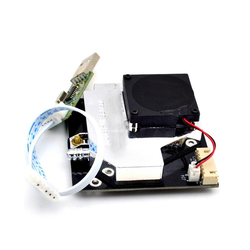 Pm 센서 sds011 고정밀 레이저 pm2.5 대기 질 감지 센서 모듈 슈퍼 먼지 먼지 센서, 디지털 출력dust sensorpm sensordetection sensor -