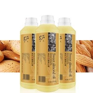 Image 1 - Huile damande douce 1000 ml huile de base huile essentielle Massage hydratant Massage corps Massage en gros