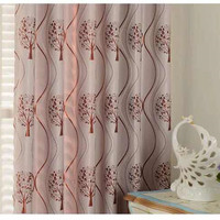 Double sided Bright Silk Jacquard Shade Curtains for Living Room and Bedroom Blackout Curtains