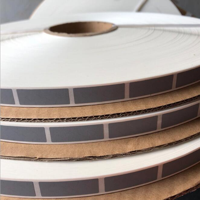 Wholesale19000PCS/roll 10x30mm zilver SCRATCH OFF STICKER adhesive DIY handleiding hand gemaakt bekrast streep kaart film-in Stickers voor briefpapier van Kantoor & schoolbenodigdheden op  Groep 2