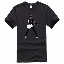 Retro Prin Tee  Fashion Short Mens Create A Joan Jett Jump Licensed Adult All Christmas T Shirts