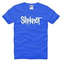 Heavy Metal Slipknot Letter Printed Mens Men T Shirt Tshirt Fashion 2016 New Short Sleeve Cotton
