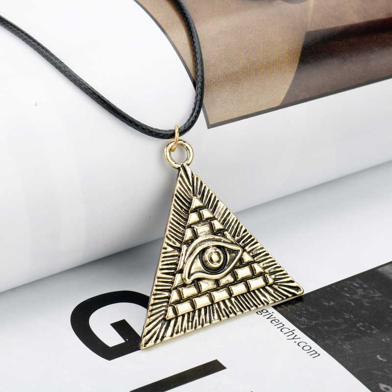 MQCHUN Anime Yugioh Millenium Pendant Jewelry Yu-Gi-Oh Necklace Yu Gi Oh Cosplay Pyramid Egyptian Eye Of Horus Necklace -30