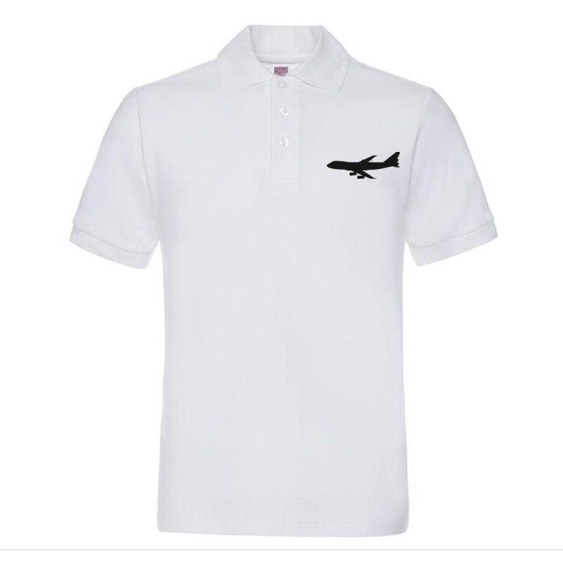 bf5aea5e3a XQXON grandes aeronaves Boeing 747 homem camisa polo novos homens da moda  Polo de algodão Camisas P22 em Polo de Dos homens de Roupas no  AliExpress.com ...