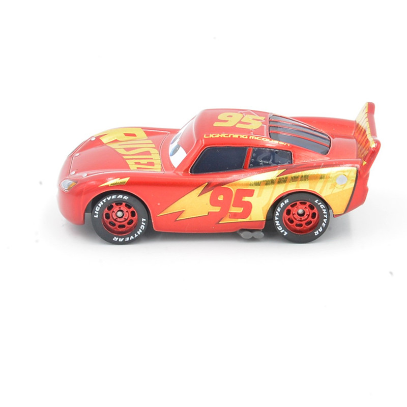Diecast 1 55 Rust Eze Racing Center Lightning Mcqueen Disney Pixar