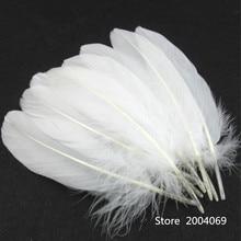 500 pcs Per Set Goose Feathers Home Celebrity Decoration15-20cm 6-8 Inch Accessory plume