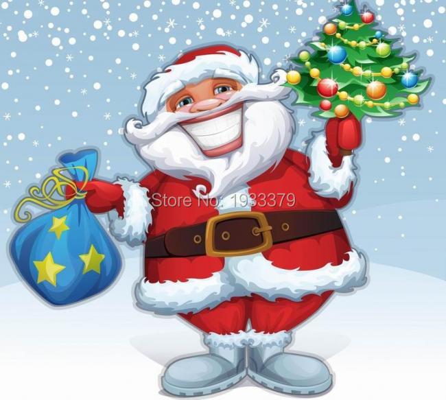 Vergelijk prijzen op Merry Christmas Painting - Online winkelen ...