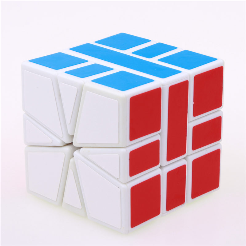 Sheng Shou Square-1 magic speed cube pendidikan profesional 3X3X3 SQ1 - Teka-teki - Foto 3
