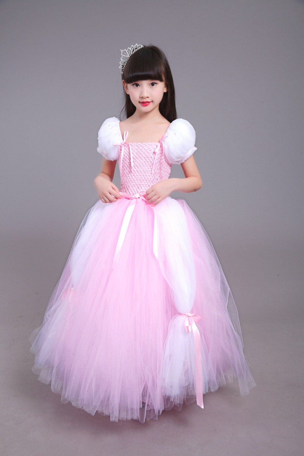 Performance Ball Gown Dress Kids Girl Latin Dance Wedding Ballet Children Party Christmas Birthday Gift Clothes Toddlers infant candino classic c4491 5 page 2