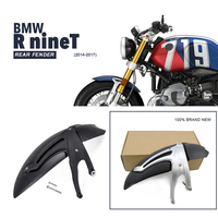 For BMW R NINE T Motorcycle rear Fender Mudguard For BMW R ninet 2014 2015 2016 2017 Tire Hugger Fender Black Silver R9T R 9 T