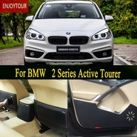 Car pads front rear door Seat Anti kick mat Car styling Accessories For BMW 2 Series Active Tourer F45 2014 2015 2016 2018