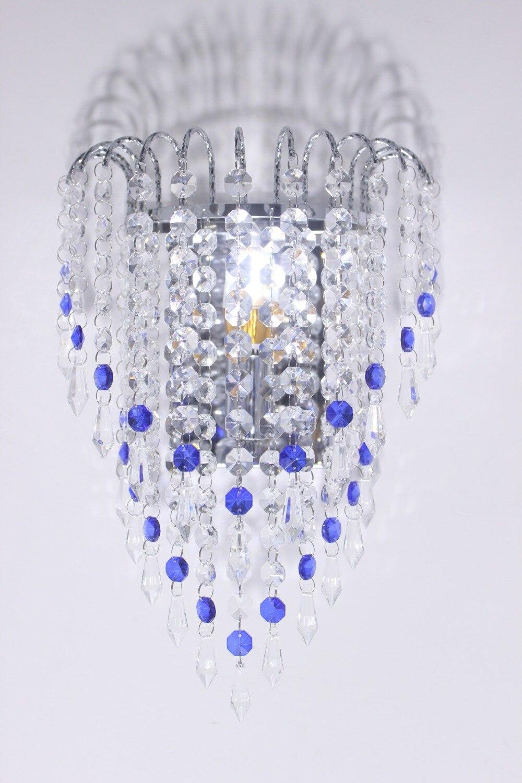 Moderne cristal mur LED appliques lampes chambre salon salle de bain placard lampes murales luxe E14 AC 110-260 V applique murale
