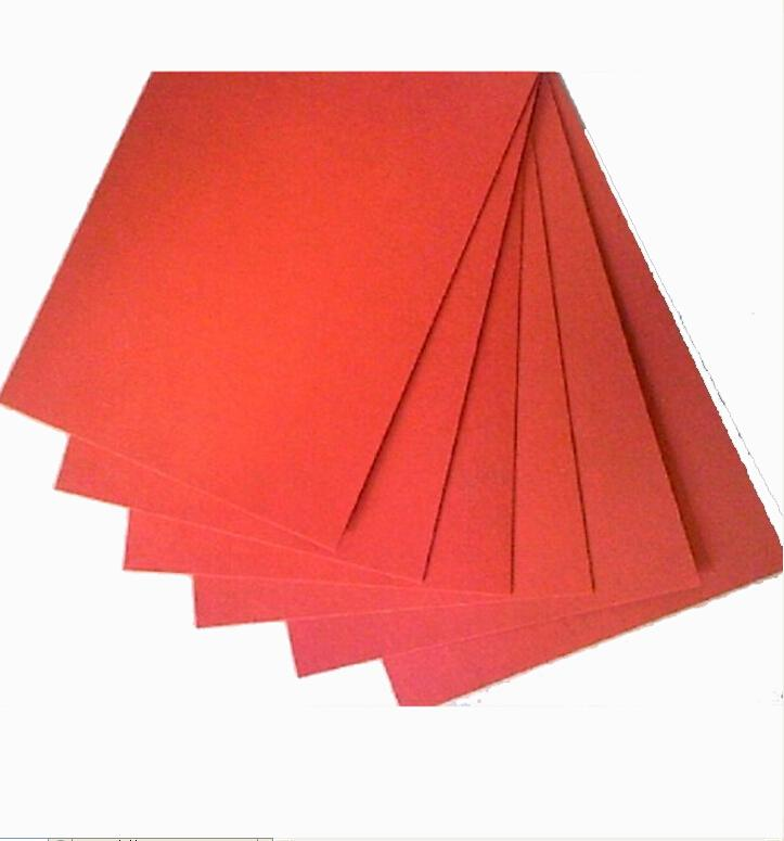 12*12 Cm Red Insulating Paper DIY Knives Friction Paper Red Steel Paper