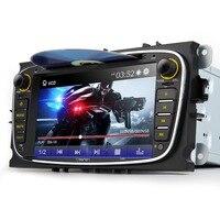 Eonon 7 ''2 din ford için araba dvd oynatıcı gps navigator Mondeo Focus S-max Video CanBus Bluetooth FM Autoradio Medya Oto Stereo