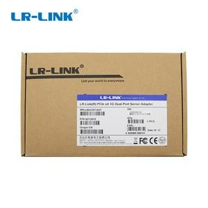 Image 5 - LR LINK 9722PT Gigabit Ethernet Ağ Adaptörü Pci express Çift Bağlantı Noktası RJ45 Lan Ağ Kartı Sunucu Intel I350 T2 Uyumlu NIC