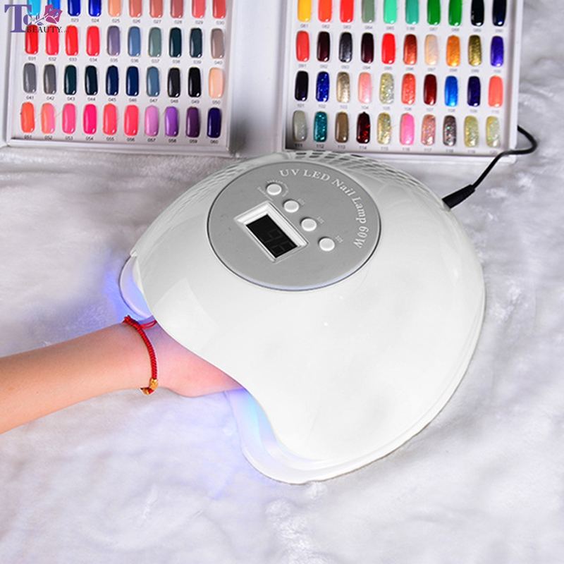 цены Manicure Lamp 60w Nail Dryer Hands Phototherapy Induction 100-240V Led Quick-drying Nail Lamp Glue Lamp Cabine UV/LED Nail Gel