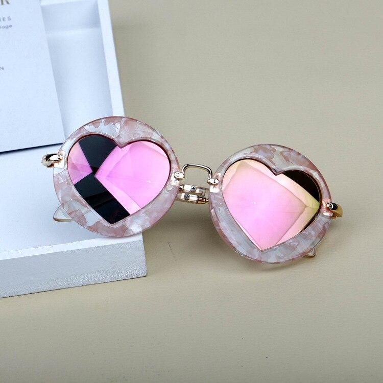 Erfinderisch Mincl/runde Kinder Sonnenbrille Marke Design Brillen Jungen Mädchen Sonnenbrille Liebe Herz Baby Neue Mode Hohe Qualität Uv400 Nx