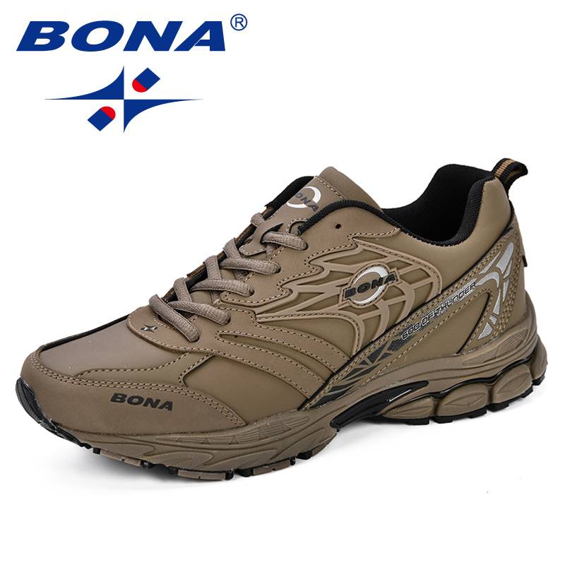 BONA Sneaker Men 2018 New Designer Atunmn Breathable Men Shoes Comfortable Trendy Male Shoes For Adult Fashion Men Casual Shoes men trendy breathable leather casual shoes
