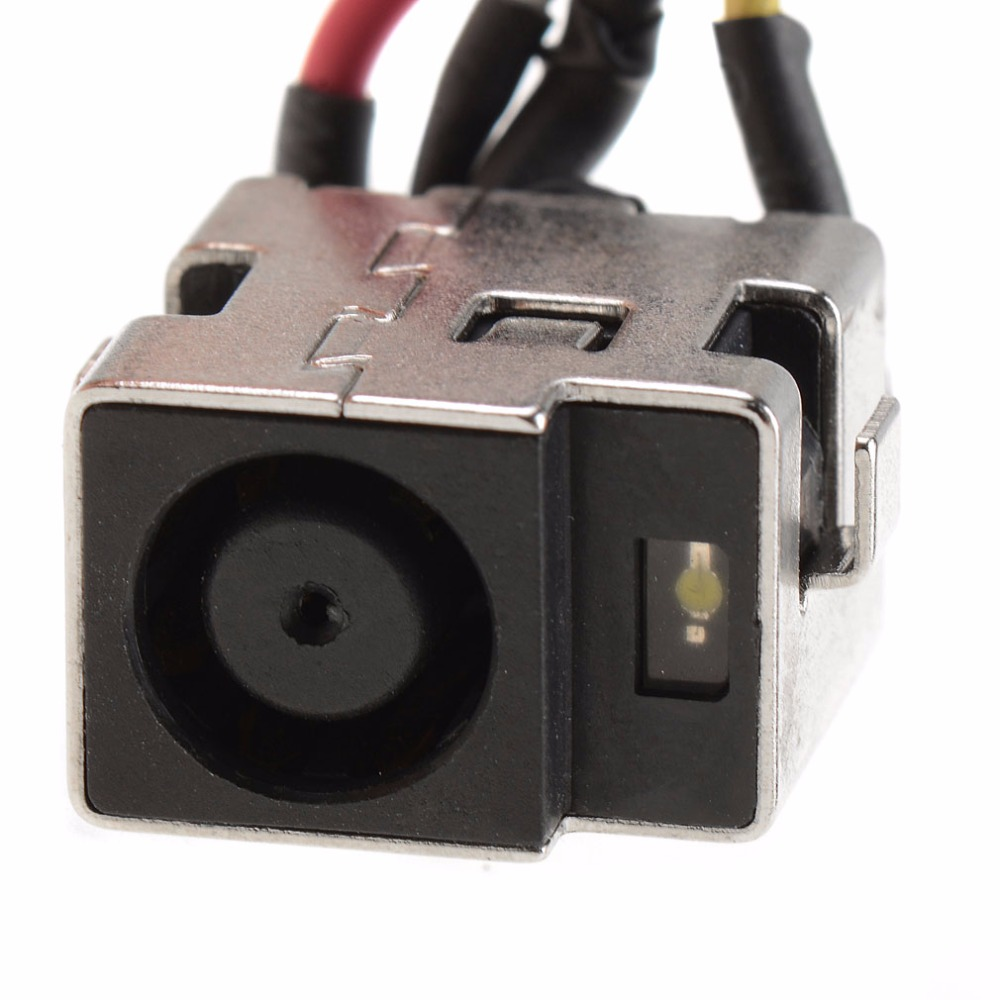 Laptops Replacement DC Jack Power Port Socket Fit For HP PAVILION DV7 1000  SERIES DC301004S00 Notebook Connectors-in Computer Cables & Connectors from  ...