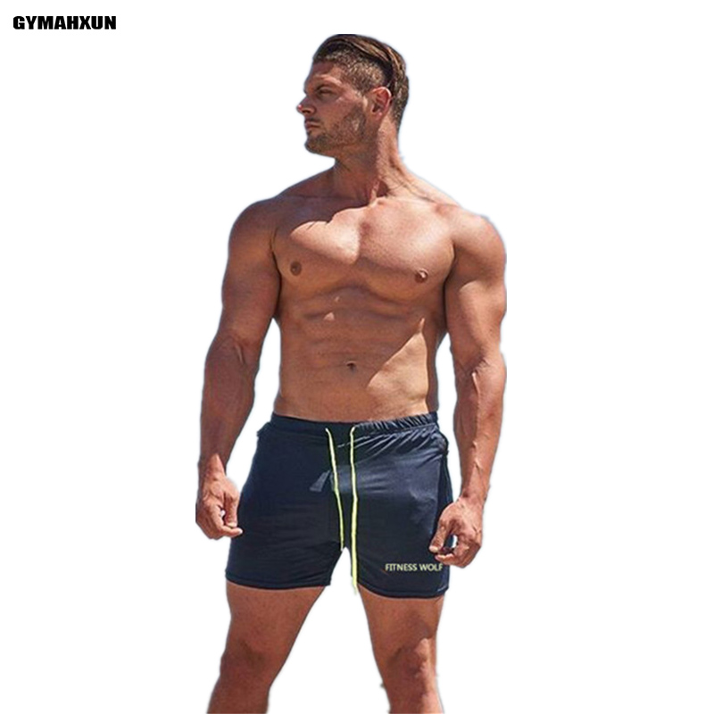 Men Shorts compression Fast drying Fitness Bodybuilding Men's Slim fit Short Jogger Mens Sweatpants muscle Workout Shorts