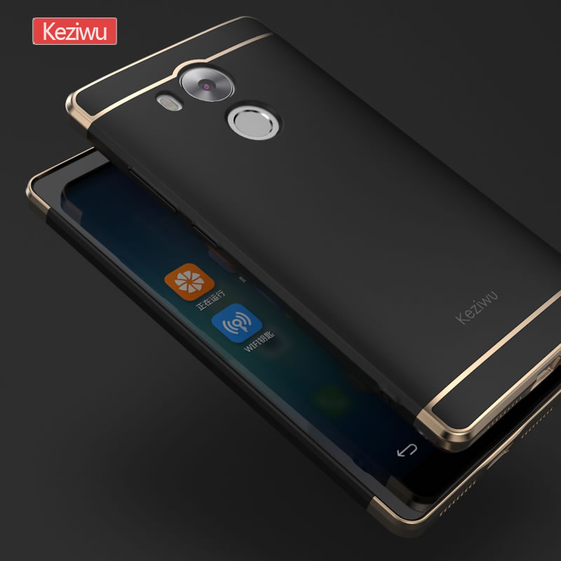 Luxury Hybrid Case For Huawei Mate 8 Hard 3 In 1 Plating Frosted