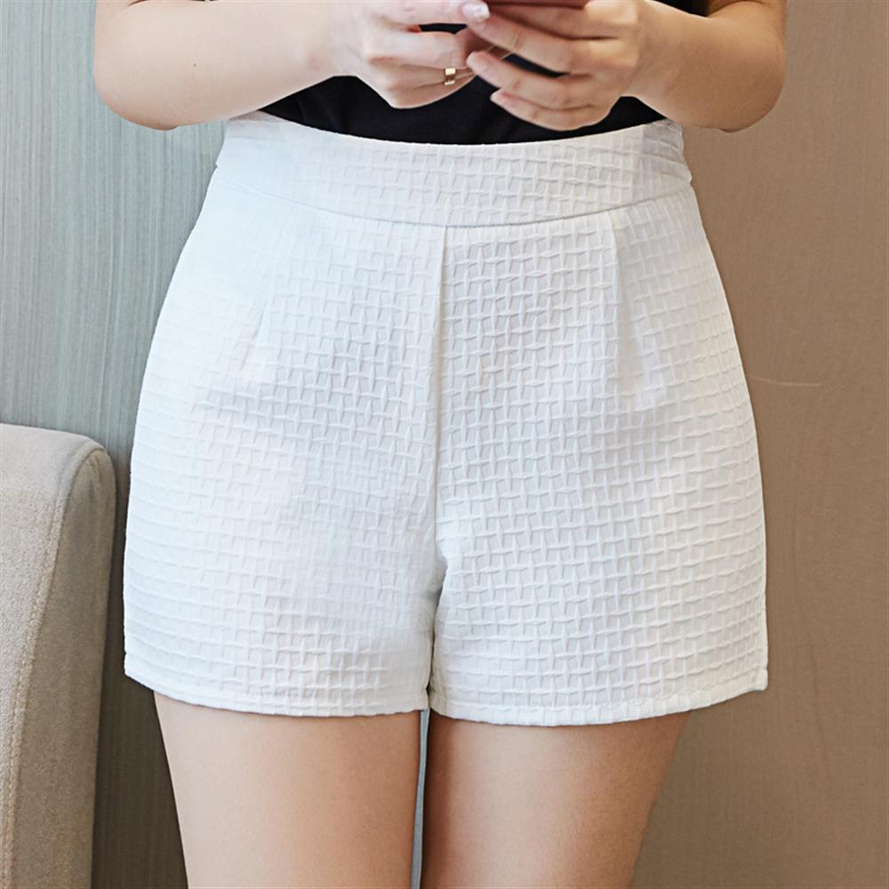 2018 new shorts wide leg womens summer wear high waist boots pants casual pockets plus size short pants white office lady short