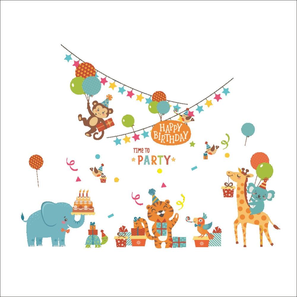 Aliexpress Com Buy Jungle Adventure Animals Wallpaper