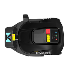 Новейший Робот-газонокосилка с Wi-Fi управлением и датчиком дождя, расписанием для подвешивания, системой автоматической зарядки, функцией з...