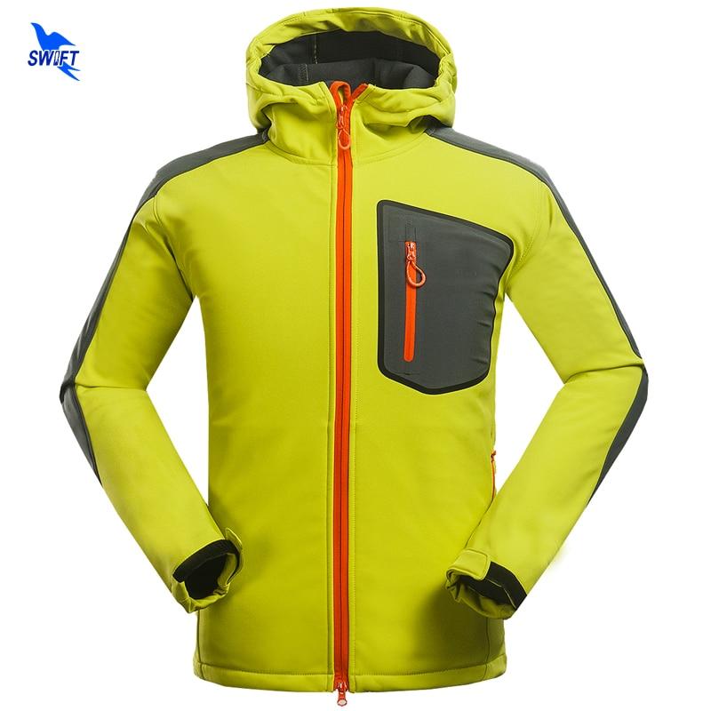 Custom Tech Fleece Hoodie Softshell Jacket Men Waterproof Windstopper Climbing Mountain Hiking Clothing Outdoor Ski Fishing Coat